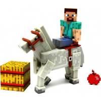 фото Фигурка Minecraft Майнкрафт Стив и Лошадь Steve & Horse (8см)
