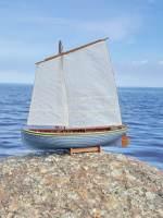 фото Сборная деревянная модель Парусно-гребной ЯЛ-6 1:24
