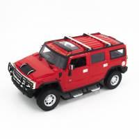 фото Радиоуправляемая машина Hummer H2 Red 1:14