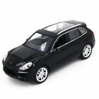 фото Радиоуправляемая машина MZ Porsche Cayenne Black 1:14