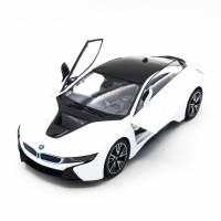 фото Радиоуправляемая машина Rastar BMW i8 White 1:14