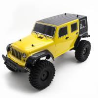 фото Радиоуправляемый краулер HSP Rock Racer 4WD 1:10 2.4G желтый