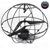 фото Радиоуправляемый вертолет-шар с камерой HappyCow Robotic UFO