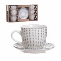 фото Набор чашек для кофе Topos 190мл 6шт.