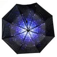 фото Зонт Звездное небо складной