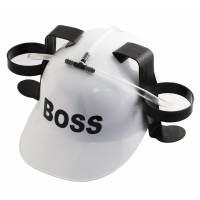 фото Каска с подставкой под банки BOSS