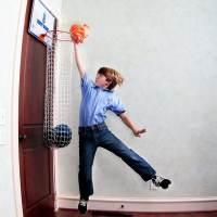 фото Корзина для белья Баскетбол