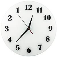 фото Часы АнтиЧасы Классика белая Стеклянные