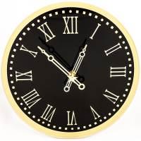 фото Часы Куранты круглые Стеклянные
