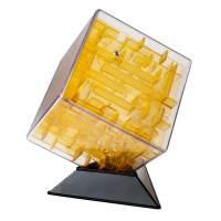 фото Лабиринтус Куб 10см, жёлтый