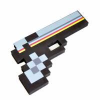фото Пиксельный пистолет Minecraft