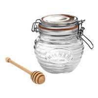 фото Банка Clip Top с ложкой для мёда 400 мл
