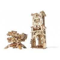 фото 3D-пазл UGEARS Башня-аркбаллиста