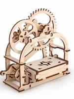 фото 3D-пазл UGEARS Механическая Шкатулка