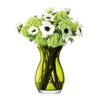 фото Ваза для небольшого букета Flower 20 см оливковая