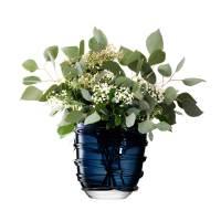 фото Ваза Yarn 26 см тёмно-синяя