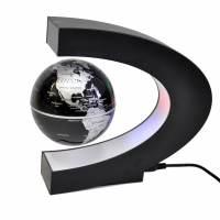 фото Левитириующий глобус черный