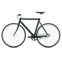 фото Наклейка на раму велосипеда Forest