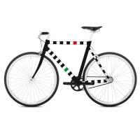 фото Наклейка на раму велосипеда Racing