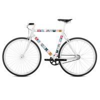 фото Наклейка на раму велосипеда Tonda