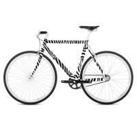 фото Наклейка на раму велосипеда Zebra