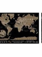 фото Скретч-карта мира Dark Edition