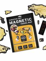 фото Скретч карта мира Travel Map Magnetic World