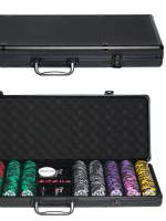 фото Набор для покера Black Stars на 500 фишек