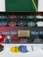 фото Набор для покера Holdem Light на 200 фишек с номиналом