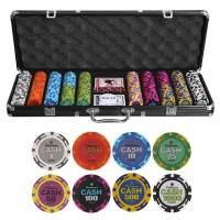 фото Набор для покера Cash на 500 фишек