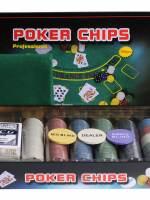 фото Набор для покера Holdem Light на 300 фишек с номиналом
