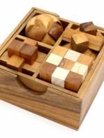 фото Набор головоломок 4в1 (Thai wood)