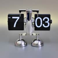 фото Часы перекидные «Flip Clock Steel» Две ножки