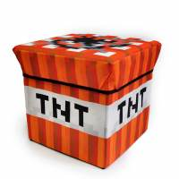 фото Сундук для хранения TNT Майнкрафт (текстиль)