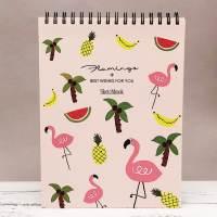 фото Скетчбук «Flamingo» pink