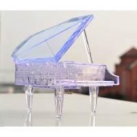 фото Головоломка 3D Рояль прозрачная
