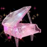 фото Головоломка 3D Рояль розовый