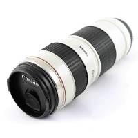 фото Термостакан в виде объектива от фотоаппарата 9 белый
