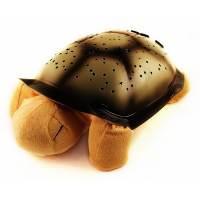 фото Ночник проектор Черепаха желтый