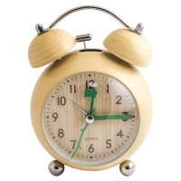 фото Часы будильник Дерево круглый