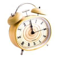 фото Часы будильник Дерево овал
