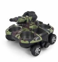 фото Радиоуправляемый танк-амфибия, стреляющий водой 2.4G - YED-24883A