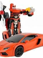 фото Радиоуправляемый трансформер MZ Lamborghini Aventodor Orange 1:14 - 2321P