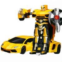 фото Радиоуправляемый трансформер MZ Lamborghini Aventodor Yellow 1:14 - 2321P-Y