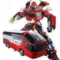 фото Радиоуправляемый трансформер MZ Красный автобус 1:14 - 2372P-R
