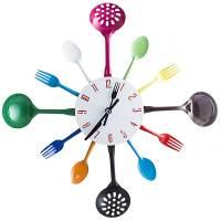 фото Часы Набор повара цветные