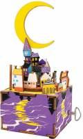 фото Деревянный 3D конструктор - музыкальная шкатулка Robotime «Midsummer Night's Dream» - AM306