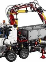 фото Конструктор Lepin Technics 20005 грузовик Mercedes-Benz Arocs 3245 - Technic 42043