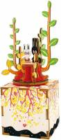 фото Деревянный 3D конструктор - музыкальная шкатулка Robotime «Spring» - AM302
