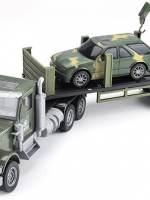 фото Радиоуправляемый грузовик-трейлер + джип CityTruck 1:24 - 552-B2